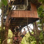 First Tree House in Brasil 2013