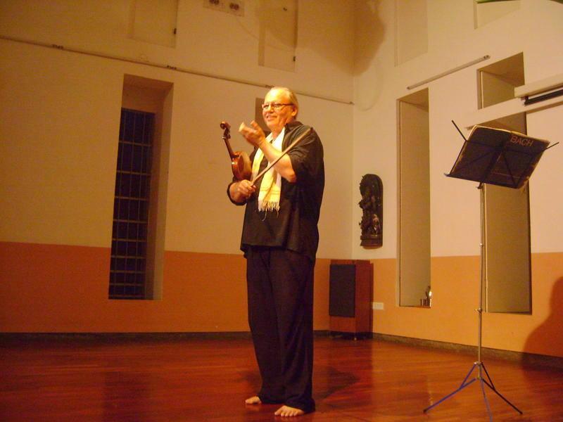 Photographer:Zarya | Ladislav Brozman , Violin solo Recital at Pitanga