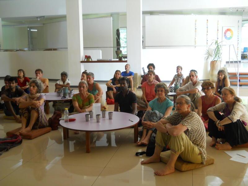 Photographer:Renu | Participants at SAVI meeting