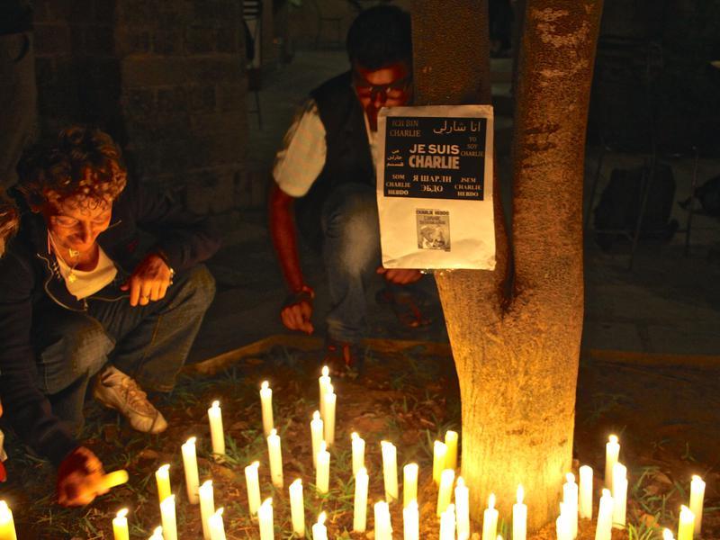 Photographer:Roland | Paying a tribute to Charlie Hebdo tragic event