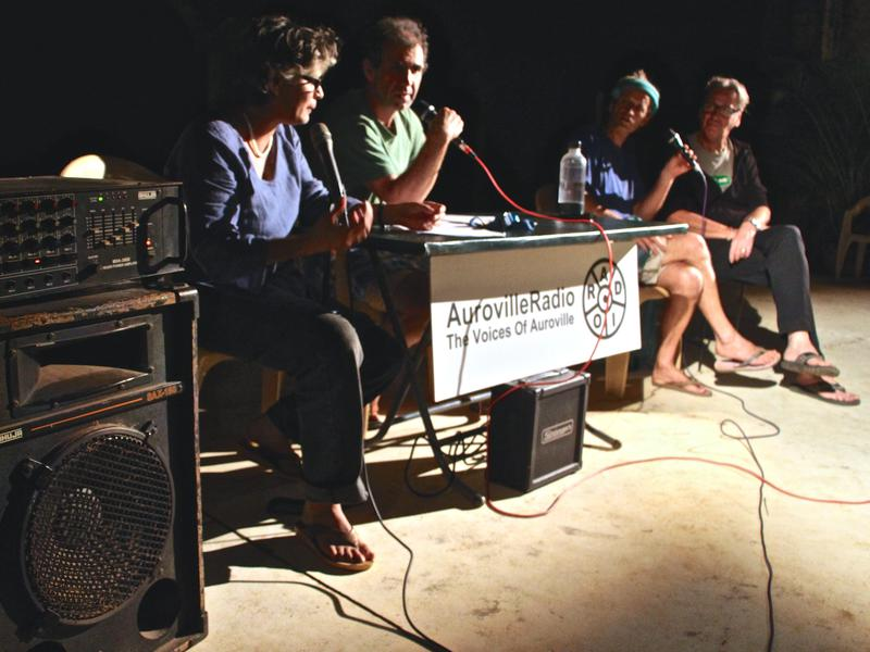 Photographer:Roland | The event was organized the Auroville Radio and the Genius Brothers