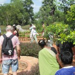 Celebrating the labyrinth at the Botanical Garden