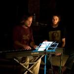 Pianist Juriaan and guitarist Greg