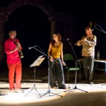 Saxophonist Paul, vocalist Clementine and flautist Kees