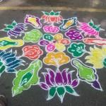 A Pongal Kolam