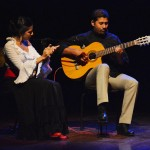 Shehzeen Cassum accompanied by Chris on guitar