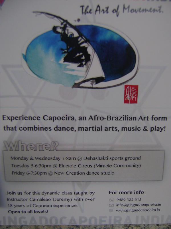 Photographer:Barbara | Capoeira in Auroville
