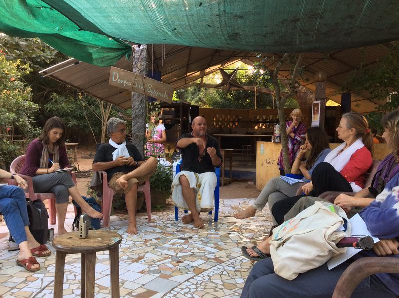 Photographer:Adam | Volunteers and guests meet at Solitude kitchen