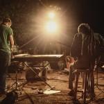 Mishko and Matt, on the saxophone