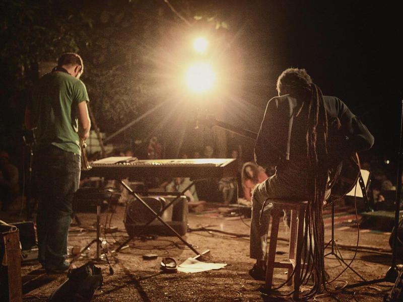 Photographer:Bodhi Art Room | Mishko and Matt, on the saxophone