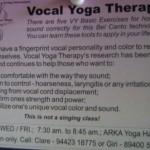 Vocal Yoga
