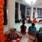 The performance took place as part of the SAARANG festival...