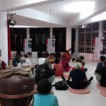 ...an exhibition on traditional Hindustani and Carnatic music at India Space, Bharat Nivas