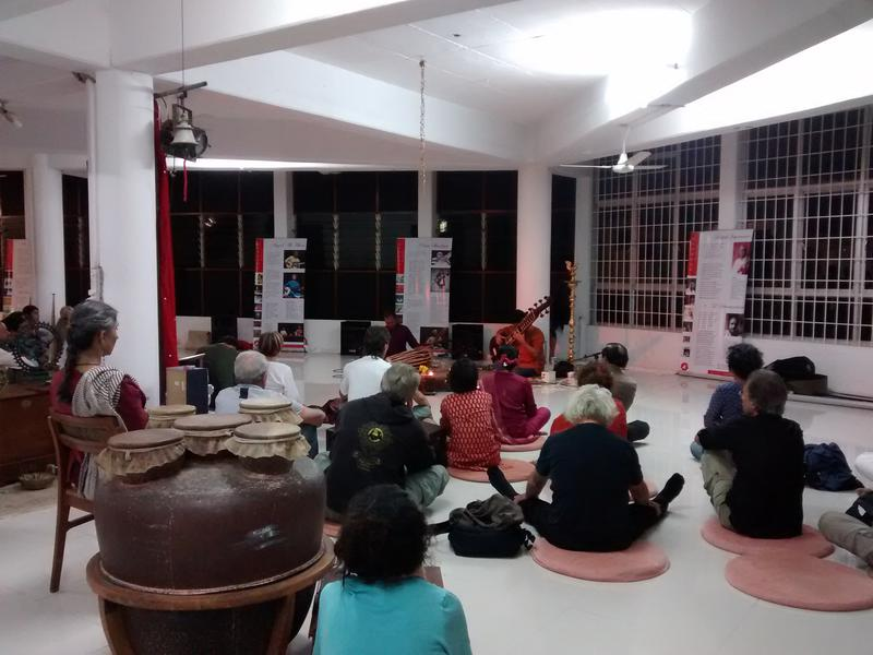 Photographer:Courtesy of SAARANG festival | ...an exhibition on traditional Hindustani and Carnatic music at India Space, Bharat Nivas