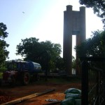 drilling new well at Water Service