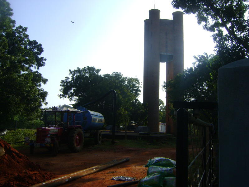 Photographer:Alma | drilling new well at Water Service