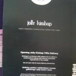 jolly kimbop delivered to your door