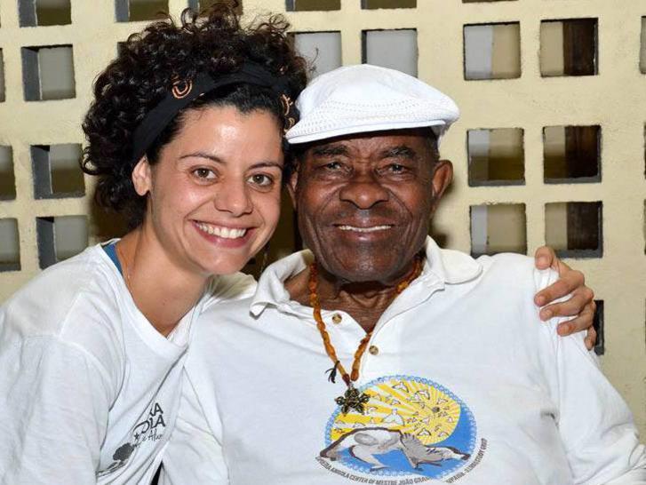 Photographer:web facebook | Luciana with Meste Joao Grande