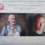 Live music Satsan meditation