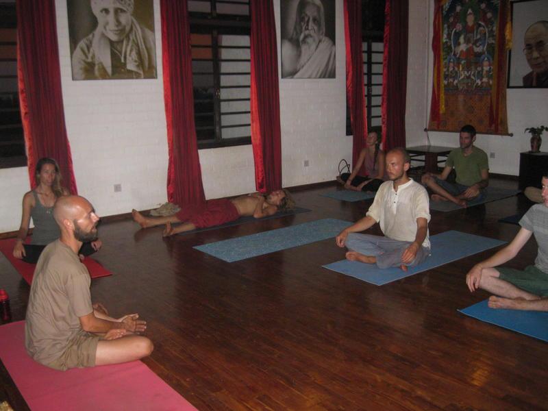 Photographer:Manue | Yoga at Tibetain Pavilion