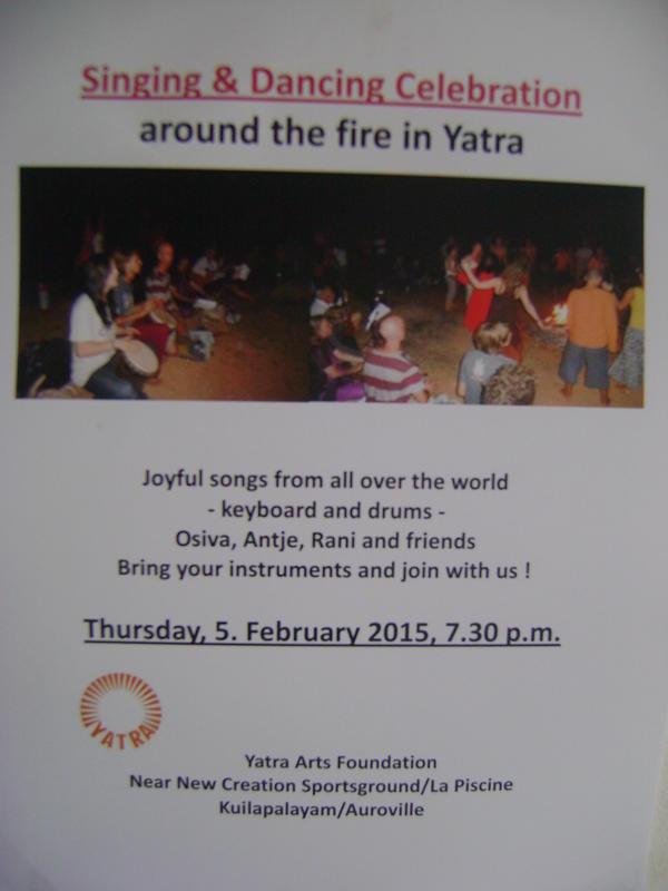 Photographer:Alma | Yatra fire circle today