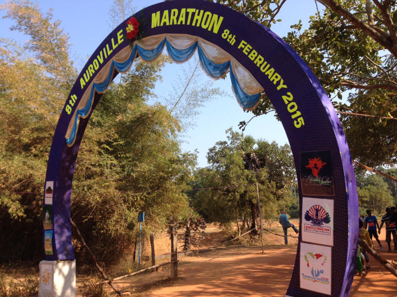 Photographer:Andrea | Starting point of the Auroville's 8th Marathon