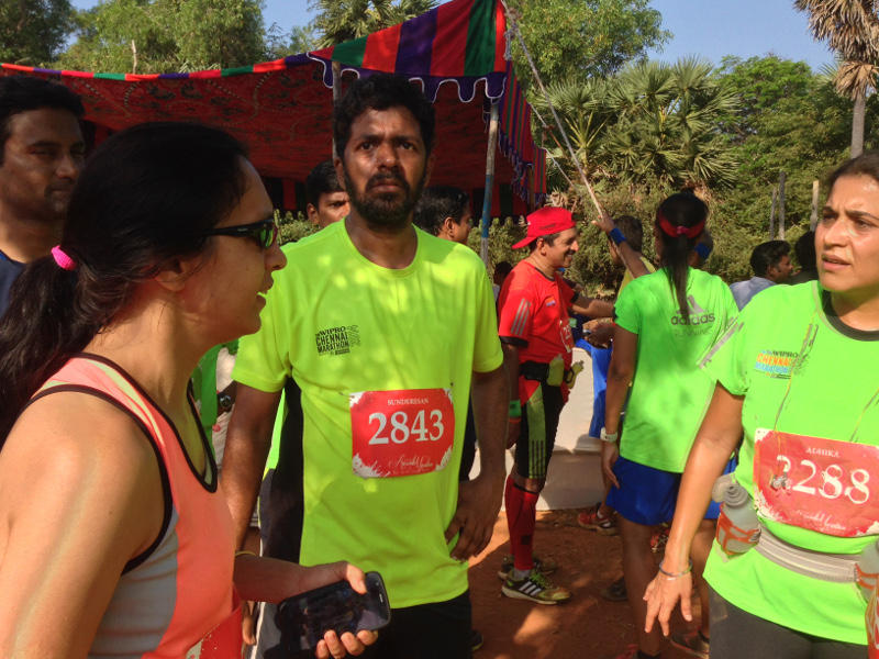 Photographer:Andrea | Runners from Chennai