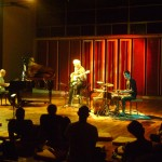 Hartmut - piano, Rolf - bass, Matt - drums at CRIPA, Kalabhumi