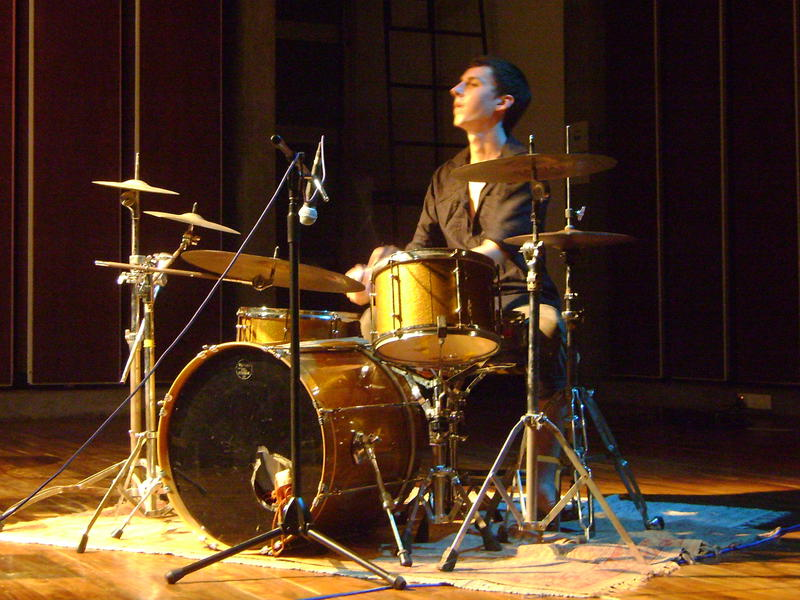 Photographer:Nola | Matt on drums