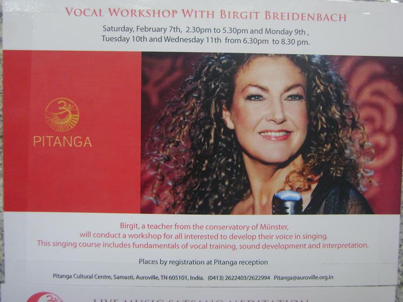 Photographer:Barbara | Birgit  Breidenbach vocal workshop