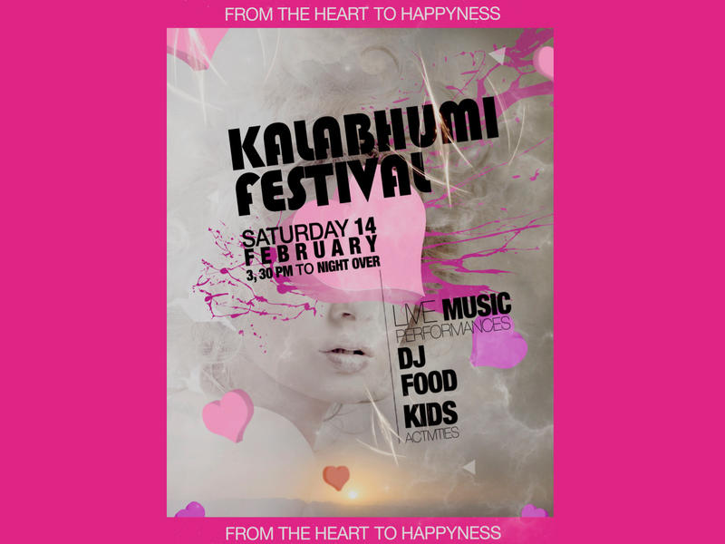 Photographer:The Kalabhumi Festival poster | Concept by Didier