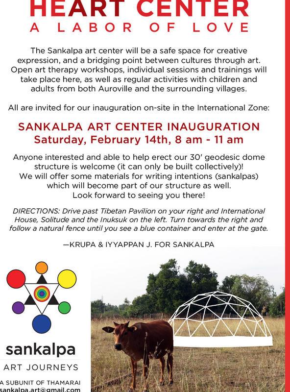 Photographer:Alma | Sankalpa - inauguration on Saturday at 8pm