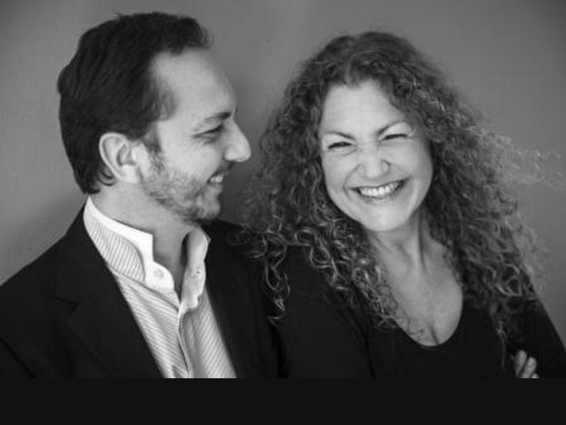 Photographer:Courtesy - CRIPA | From left: Puskhar and Birgit Breidenbach