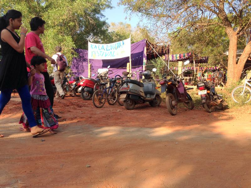 Photographer:Andrea | The Kalabhumi Festival entrance early in the afternoon