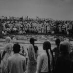 Inauguration at the Peace area 1968