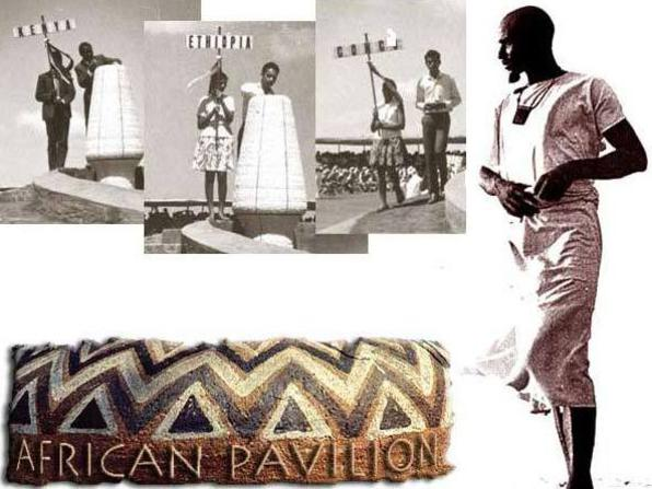 Photographer:web | Africa House, Pavilion of African Culture, International Zone