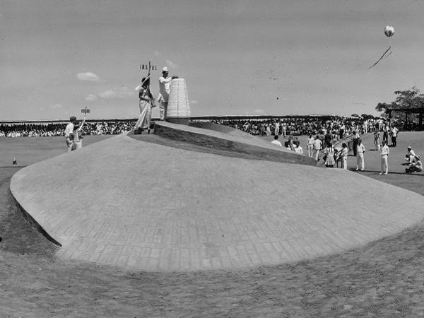 Photographer:Auroville Archives | Inauguration of Auroville 28 Feb 1968