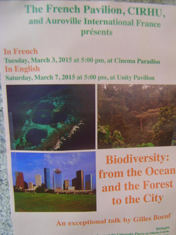 Photographer:Amadea | Talk on Biodiverstiy on Saturday at Unity Pavilion