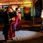 Group belly dance