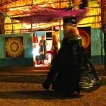 Belly dance in solo