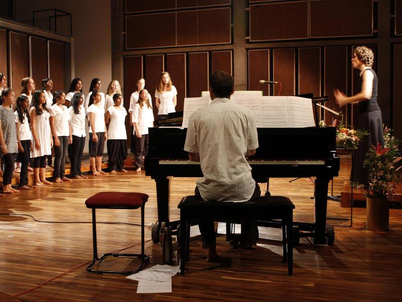 Photographer:web | Auroville Choirs