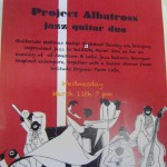 Project Albatross, Solitude Farm, Wednesday at 7pm