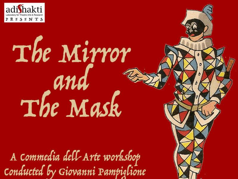 Photographer:Barbara   The Mirroa and the Mask, Adishakti workshop