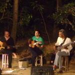 Mathias Muller, Nishad Pandey and Mishko M'ba - bass