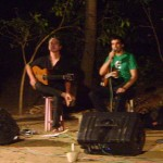 Mathias Muller and Nishad Pandey on classical guitars