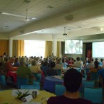 Plenary of Auroville Retreat, visit of Dr. Karan Singh