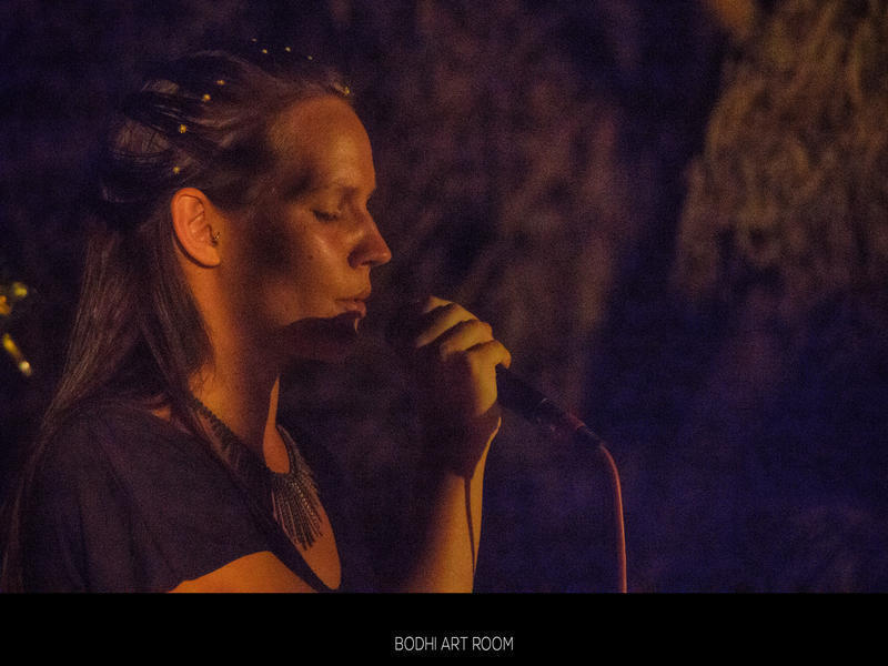 Photographer:Bodhi Art House | Hanne, a Danish singer, singing the Nordic hymns