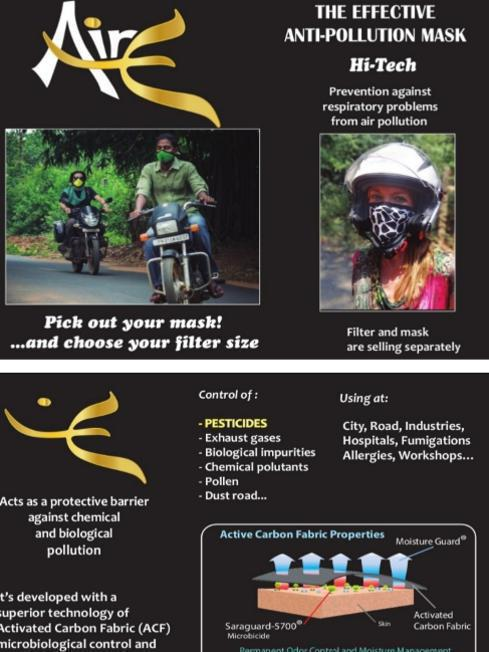 Photographer:web | PTDC offers us the Effective anti-pollution mask