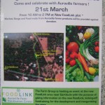 Inauguration of New Food Link Lot on Saturday 21st at 10am