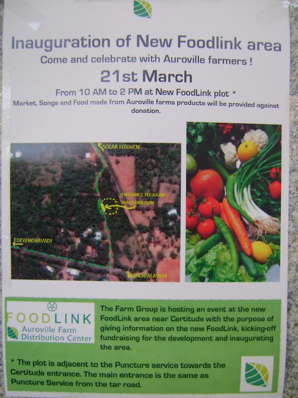 Photographer:web | Inauguration of New Food Link Lot on Saturday 21st at 10am